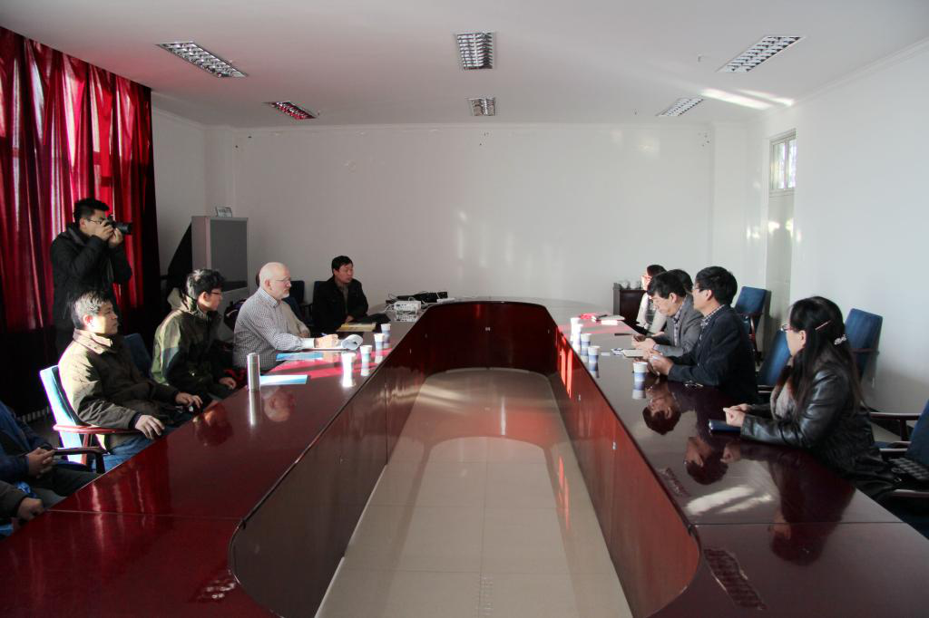 Dr. Dean Van C. Kelley From College of Forestry and Biological in American South Datta University Visit Hebei University