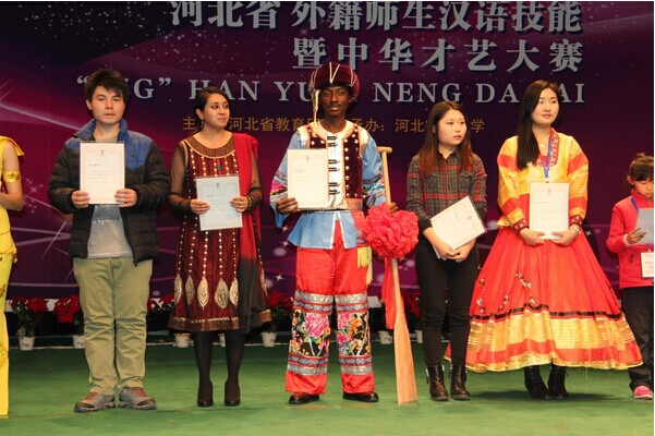 HBNU oversea students succeeded in the Hebei Eighth foreign teachers and students Chinese language skills contest
