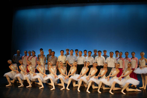 National Ballet performs in Hebei North University on the theme