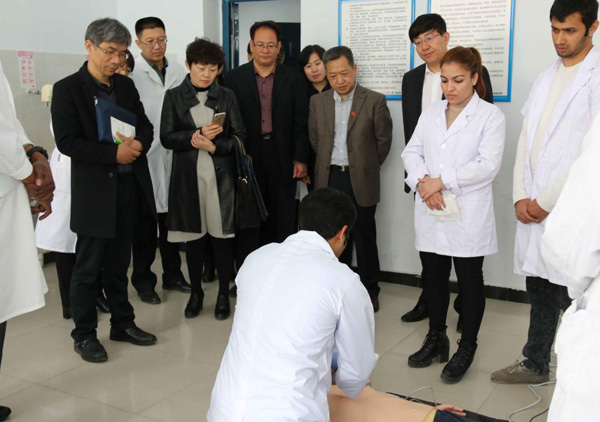 An Expert Group From The Ministry Of Education Visited Heibei North University